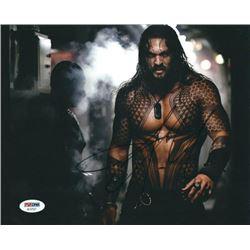 Jason Momoa Signed 'Aquaman' 8x10 Photo (PSA COA)