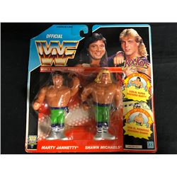 OFFICIAL WWF HASBRO MOC ROCKERS (FRENCH CARD)