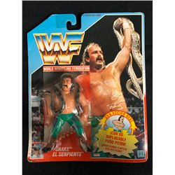 "OFFICIAL WWF HASBRO MOC JAKE ""THE SNAKE"" ROBERTS"