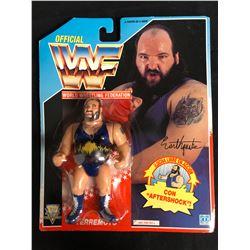 OFFICIAL WWF HASBRO MOC EARTHQUAKE
