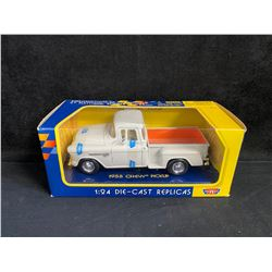 MOTOR MAX 1:24 SCALE DIE-CAST REPLICAS 1955 CHEVY PICK UP