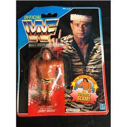 "OFFICIAL WWF HASBRO MOC JIMMY ""SUPERFLY"" SNUKA"