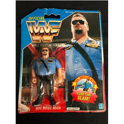 OFFICIAL WWF HASBRO MOC BIG BOSS MAN