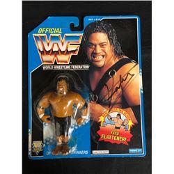 "OFFICIAL WWF HASBRO MOC ""THE HEADSHRINKERS"" FATU"