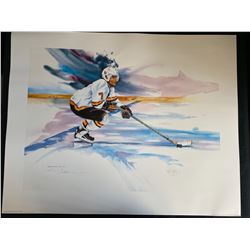 LIMITED EDITION CLIFF RONNING HOCKEY PRINT 24X36