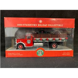 1:50 SCALE COLLECTOR EDITION 2003 STARBUCKS HOLIDAY COLLECTIBLE VINTAGE MACK LJ TRUCK