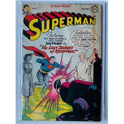 SUPERMAN #74 (DC COMICS) 52 BIG PAGES
