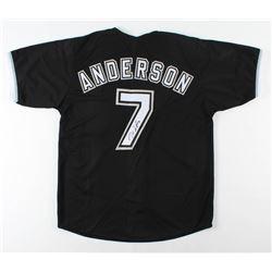 Tim Anderson Signed Jersey (JSA COA)