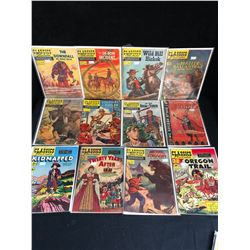 VINTAGE CLASSIC'S ILLUSTRATED COMIC BOOK LOT