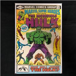 MARVEL SUPER HEROES Featuring THE INCREDIBLE HULK #100 (MARVEL COMICS)