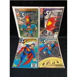 ASSORTED SUPERMAN COMIC BOOK LOT (DC COMICS)