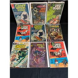 GHOST STORIES COMIC BOOK LOT