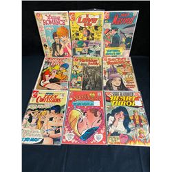 ASSORTED ROMANCE COMIC BOOK LOT