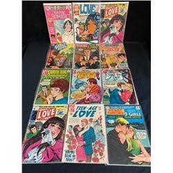 ASSORTED ROMANCE COMIC BOOK LOT
