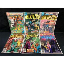 ASSORTED UNEXPECTED COMIC BOOK LOT (DC COMICS)