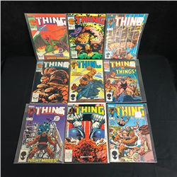 THE THING COMIC BOOK LOT (MARVEL COMICS)