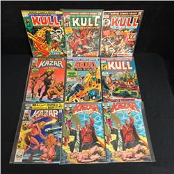 KULL/ KAZAR COMIC BOOK LOT (MARVEL COMICS)