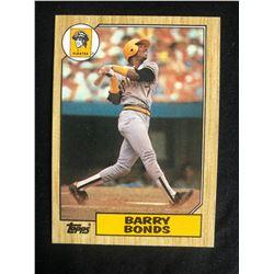 1987 Topps #320 Barry Bonds RC