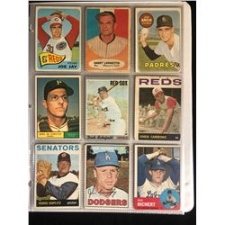 VINTAGE BASEBALL STARS CARD LOT