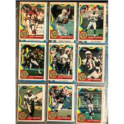 1989 TOPPS FOOTBALL CARD LOT