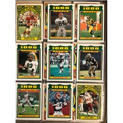 1980's TOPPS FOOTBALL CARD LOT