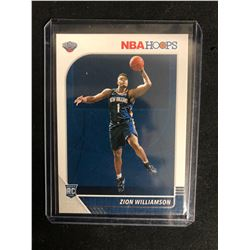2019 Panini NBA Hoops #258 Zion Williamson RC