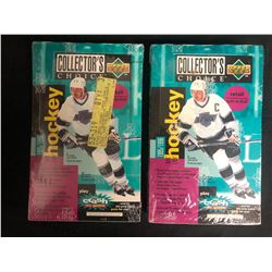 UPPER DECK COLLECTOR'S CHOICE HOCKEY HOBBY BOX LOT