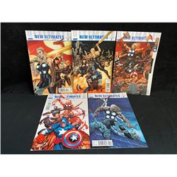 NEW ULTIMATES ISSUES 1-5 (MARVEL COMICS)
