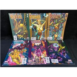 ULTIMATE VISION #1-6 (MARVEL COMICS)