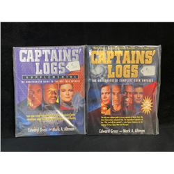 CAPTAINS' LOGS BOOK LOT