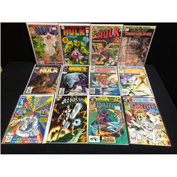 ASSORTED COMIC BOOK LOT (INCREDIBLE HULK, SILVER SURFER...)