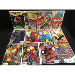 ASSORTED COMIC BOOK LOT (DAREDEVIL, RED SONJA...)