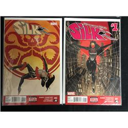SILK #001-002 (MARVEL COMICS)