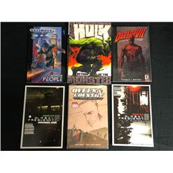 ASSORTED COMIC BOOK/ GRAPHIC NOVEL LOT