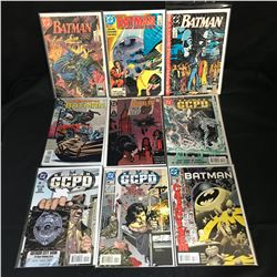 ASSORTED BATMAN COMIC BOOK LOT (DC COMICS)