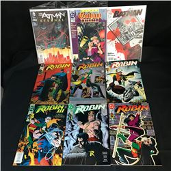 ASSORTED BATMAN/ ROBIN COMIC BOOK LOT (DC COMICS)