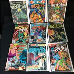 ASSORTED UNEXPECTED COMIC BOOK LOT (DC COMICS)