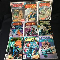 ASSORTED GHOSTS COMIC BOOK LOT (DC COMICS)