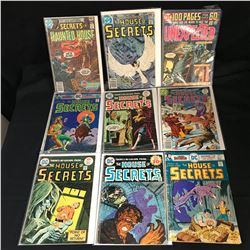 THE HOUSE OF SECRETS COMIC BOOK LOT (DC COMICS)