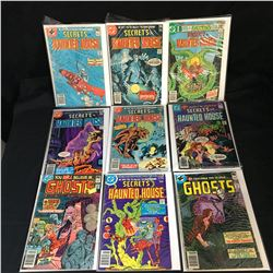 DC COMICS BOOK LOT (SECRETS of HAUNTED HOUSE, GHOSTS)