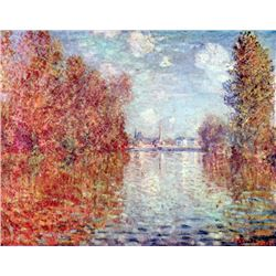 Claude Monet - Autumn in Argenteuil