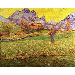 Van Gogh - A Meadow In The Mountains Le Mas De Saint-Paul
