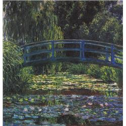 Claude Monet - Water Lily Pond #6