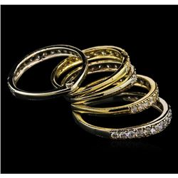 2.98 ctw Diamond Ring - 14KT Two-Tone Gold