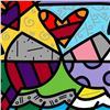 Image 2 : Toast To Love Glasses by Britto, Romero
