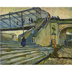 Van Gogh - The Bridge At Trinquetaille