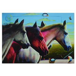 Wild Stallions by Ferjo