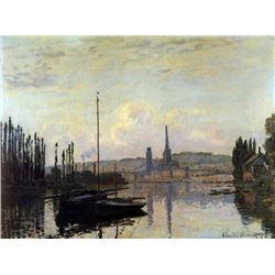 Claude Monet - View of Rouen