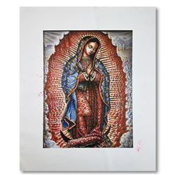 Our Lady of Guadalupe by Steve Kaufman (1960-2010)