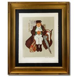 Muggleston Stagecoach by Rockwell (1894-1978)